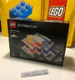 21037 LEGO Architecture Lego House Exclusive Billund Denmark! FACTORY SEALED