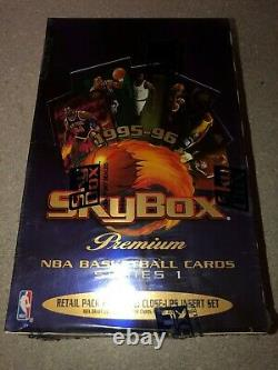 95-96 Skybox Premium NBA Basketball Cards Factory Sealed Series 1 Box of 36 Pack