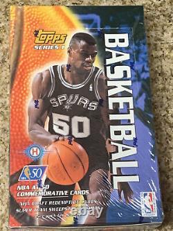 96-97 TOPPS FACTORY SEALED NBA Hobby Box 36 Packs Per Box Series 1- Rare