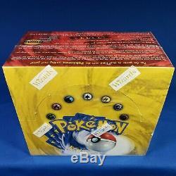 Base Set Booster Box Pokemon 1999 WOTC Factory Sealed English 36 Packs See Pics
