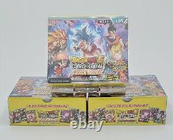 Dragon Ball Super CCG Colossal Warfare BT4 Booster Box Factory Sealed Lot of 3