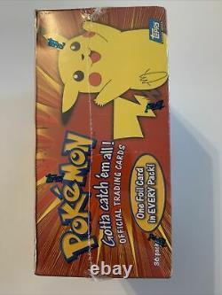 Factory Sealed 1999 Topps Pokemon Series 1 TV Animation Booster Box 36 Packs