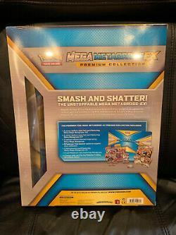 Factory Sealed XY Shiny Mega M Metagross Ex Premium Pokemon Collection Box