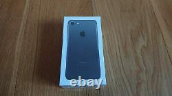 IPhone 7 32GB Black Sealed Box Factory Unlocked With Accessories