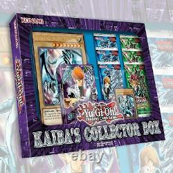 KAIBA'S COLLECTOR BOX FACTORY SEALED Blue-Eyes White Dragon Deck YuGiOh