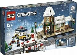 LEGO 10259 Creator Winter Village Station New in FACTORY SEALED Box Christmas