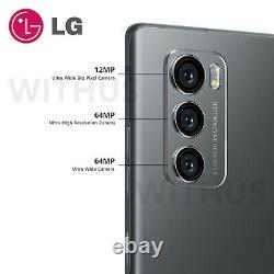 LG WING 5G Swivel LM-F100N Factory Unlocked 8GB / 128GB Snapdragon765 Sealed Box
