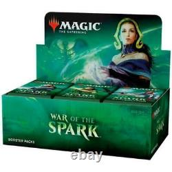 MTG War of the Spark Booster Box Brand New and Factory Sealed