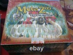 MetaZoo Cryptid Nation 1st Edition Booster Box FACTORY SEALED