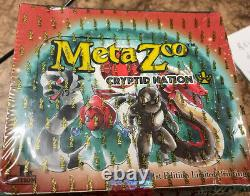 MetaZoo Cryptid Nation 1st Edition Booster Box Factory Sealed IN HAND