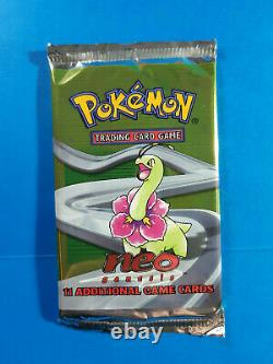 NEO GENESIS VINTAGE POKEMON BOOSTER PACK from Factory Sealed Box UNWEIGHED