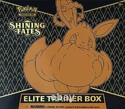 PREORDER Factory SEALED Pokemon Shining Fates Elite Trainer Box ETB TCG