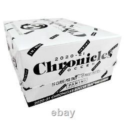 Panini 2021 Chronicles Soccer Retail Box, Serie A, La Liga, EPL, Factory Sealed