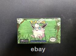 Pokemon 1st Edition Jungle Booster Box WOTC 1999 Factory Sealed