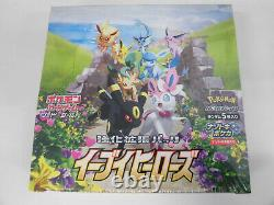 Pokemon Card Sword & Shield Booster Box Eevee Heroes s6a Japanese Factory Sealed
