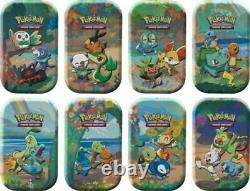 Pokemon Celebrations Mini Tin Display (8 tins) Factory Sealed