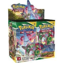 Pokemon EVOLVING SKIES Booster Box Factory Sealed 36 Packs