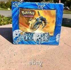 Pokemon EX Unseen Forces Booster Box FACTORY SEALED VERY RARE LOW PRINTED