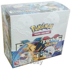 Pokemon Evolutions XY Factory Sealed Booster Box New Mint Condition