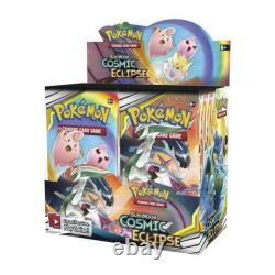 Pokemon S&m Cosmic Eclipse Factory Sealed Booster Box In Stock