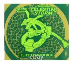 Pokemon Sun & Moon Celestial Storm Elite Trainer Box Factory Sealed New ETB