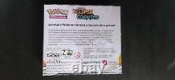 Pokemon Sword & Shield Cosmic Eclipse Booster Box Factory Sealed PORTUGUESE