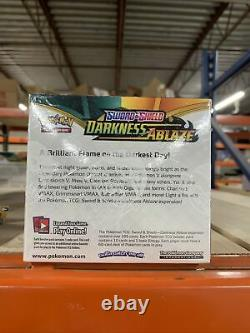 Pokemon Sword & Shield DARKNESS ABLAZE Booster Box 36 Packs FACTORY SEALED