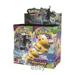 Pokemon Sword & Shield Vivid Voltage Booster Box 36 Packs Factory Sealed