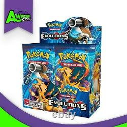 Pokemon TCG 2016 XY12 Factory Sealed Evolutions Booster Box 36 Booster Packs