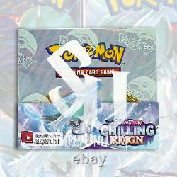 Pokemon TCG CHILLING REIGN Booster Box FACTORY SEALED 36 Packs PRESALE 06/18/21