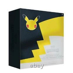 Pokemon TCG Celebrations Pokemon Center Elite Trainer Box Factory Sealed Case