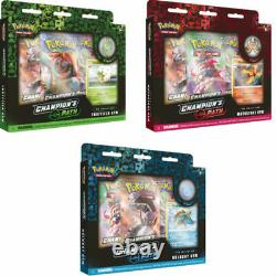 Pokemon TCG Champion's Path Pin Collections Display Factory Sealed 6 Boxes