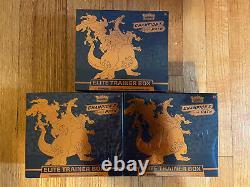 Pokemon TCG Champions Path Elite Trainer Box ETB Factory Sealed LOT of 3