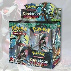 Pokemon TCG GUARDIANS RISING Booster Box FACTORY SEALED 36 Packs (no box)
