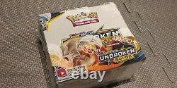 Pokemon TCG Unbroken Bonds Booster Box Factory Sealed Sun & Moon