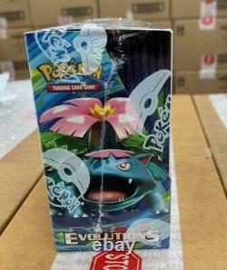 Pokemon TCG XY12 EVOLUTIONS English Booster Box x1 Factory Sealed BNIB