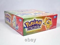 Pokemon Topps Advanced Challenge Factory Sealed Box 24 Packs Charizard Pikachu