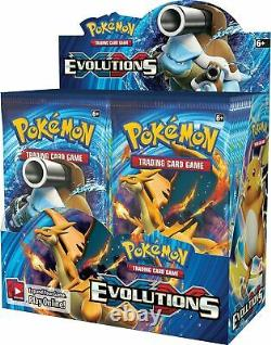 Pokemon XY EVOLUTIONS FACTORY SEALED booster box 36 packs