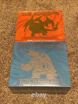 Pokemon XY Evolutions Elite Trainer Box Set Charizard Blastoise Factory Sealed