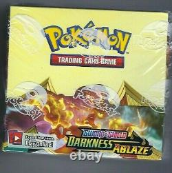 Sword & Shield Darkness Ablaze Factory Sealed Booster Box 36 ct NEW Pokemon TCG