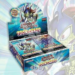 Toon Chaos Booster Box YuGiOh FACTORY SEALED
