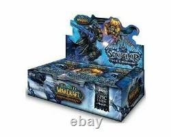 WoW TCG Icecrown Booster Box World of Warcraft 24 Booster Packs Factory Sealed