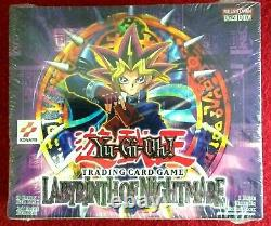 YuGiOh! Labyrinth of Nightmare Booster Box ENGLISH Factory Sealed 24 pack MINT