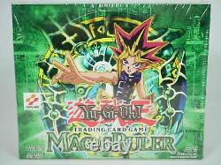 Yugioh 1st Edition Magic Ruler Booster Box MRL Factory Sealed 24 Packs Mint