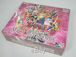 Yugioh 1st Edition Magician's Force Booster Box MFC Factory Sealed 24 Packs RARE