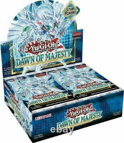 Yugioh Dawn of Majesty Booster Case (12 Boxes) Factory Sealed