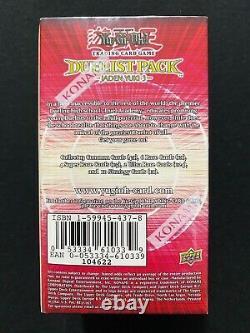 Yugioh! Duelist Pack Jaden Yuki 3 1st Edition 30ct Booster Box Factory Sealed