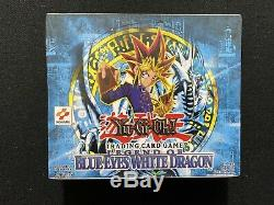 Yugioh! Legend of Blue Eyes White Dragon Unlimited Booster Box Factory Sealed