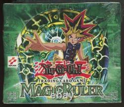 Yugioh Magic Ruler Factory Sealed Booster Box 36 Packs