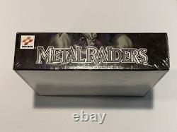 Yugioh Metal Raiders 1ST EDITION Factory Sealed Booster Box Brand New